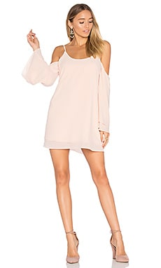 x REVOLVE Lucy Dress in Blush