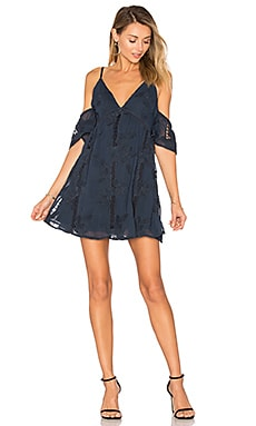 Wishful Dress in Navy