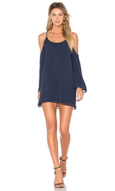 x REVOLVE Lucy Dress in Navy