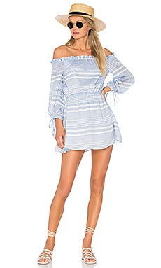 x REVOLVE Get Lost Dress in Blueberry Stripe
