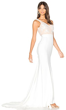 x REVOLVE Gallery Gown in White