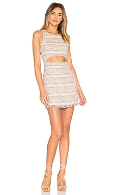 Crossroads Bodycon in Multi Stripe