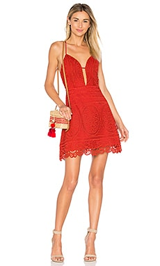 Orchard Dress in Red