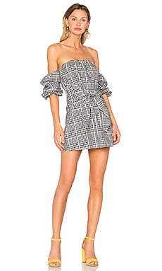 x REVOLVE Kiwi Dress in Spring Plaid