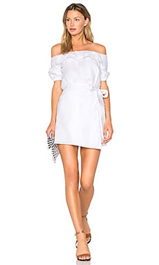 x REVOLVE Jules Dress in White