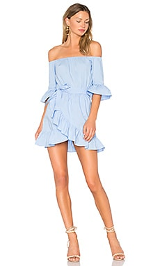 x REVOLVE Cora Dress in Baby Blue
