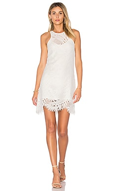 Sky Shift Dress in Ivory