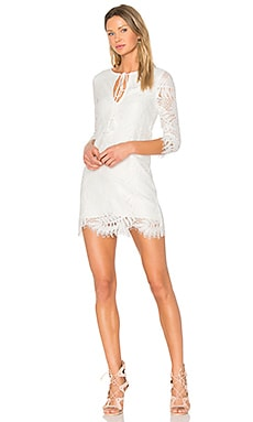 Marlie Mini Dress in Ivory