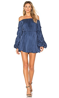 x REVOLVE Windblown Dress in Azure