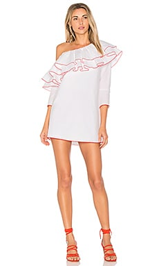 x REVOLVE Ruffle Dress Lovers + Friends $62
