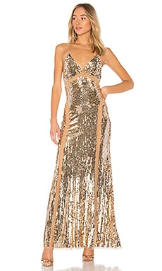 x REVOLVE Loyal Gown Lovers + Friends $298