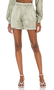 Lounge High Waisted Shorts Lovers + Friends $148 NEW