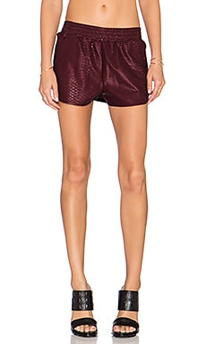Lovers + Friends x REVOLVE Soccer Short in Bordeaux