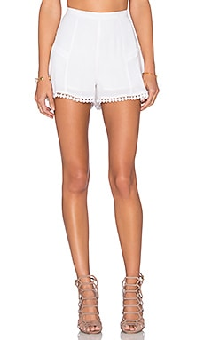 Lovers + Friends Oasis Skort in Ivory