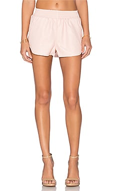 x REVOLVE Soccer Short in Nude