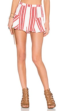 Lovers + Friends x REVOLVE Oasis Skort in Red Stripe