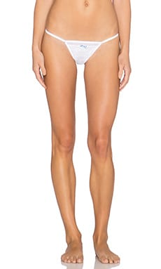 Lovers + Friends x REVOLVE Wedded Bliss Thong in White