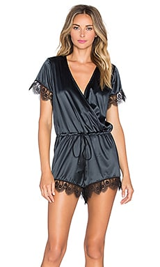 Lovers + Friends x REVOLVE Get Intimate Romper in Black
