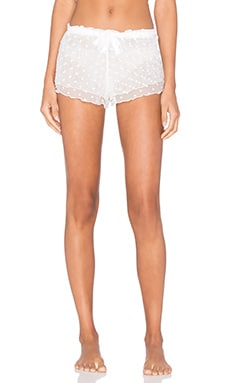 Lovers + Friends Sunday Morning Short in Ivory