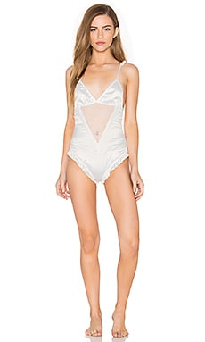 Simone Bodysuit in Pearl