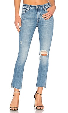 Logan High-Rise Tapered Jean in Vernon