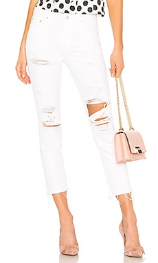 Logan High-Rise Tapered Jean Lovers + Friends $188