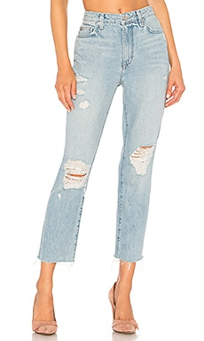 Logan High Rise Tapered Jean Lovers + Friends $188