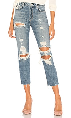 Logan High-Rise Tapered Jean Lovers + Friends $123