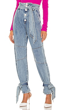 Alexis Paperbag Jean Lovers and Friends $228 NEW