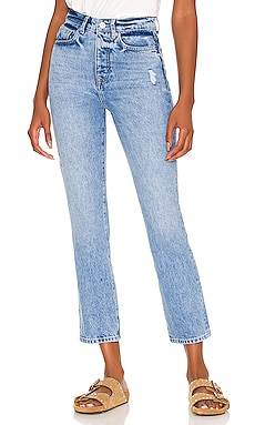 Reece High Rise Slim Straight Lovers and Friends $148 NEW