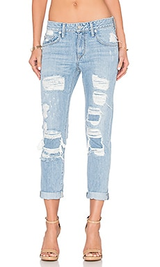 Lovers + Friends Ezra Slim Boyfriend Jean in Ceres