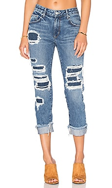 Ezra Slim Boyfriend Jean in Cypress