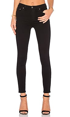 Lovers + Friends Mason High-Rise Skinny Jean in Del Amo