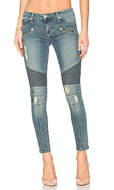 JEAN SKINNY MOTARD PETITE AARON Lovers + Friends $168