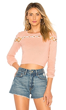 All Tied Up Sweater Lovers + Friends $148