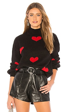 Heart Sweater Lovers + Friends $158