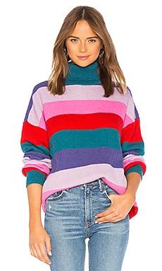 Купить Marianne stripe sweater - Lovers + Friends розового цвета