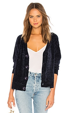 Roma Chenille Cardi Lovers + Friends $138