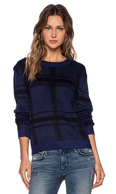Lovers + Friends Lawrence Sweater in Plaid