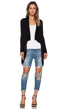 Lovers + Friends Ellis Cardigan in Black
