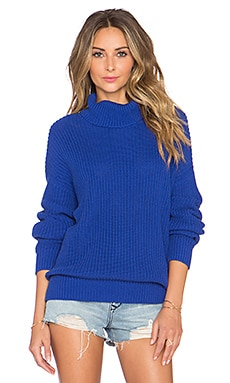 Lovers + Friends x REVOLVE Alexa Sweater in Dark Navy