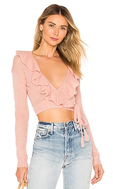 PULL DRAPÉ MACAROON Lovers + Friends $39 (SOLDES ULTIMES)