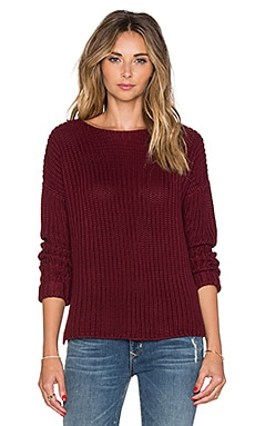 Lovers + Friends x REVOLVE Edna Sweater in Merlot