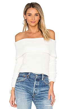 x REVOLVE Vylette Sweater in Ivory