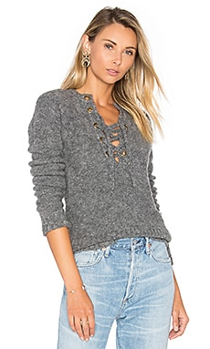 x REVOLVE Rocky Sweater in Stone