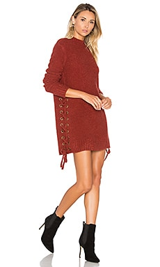 x REVOLVE Em Sweater in Strawberry