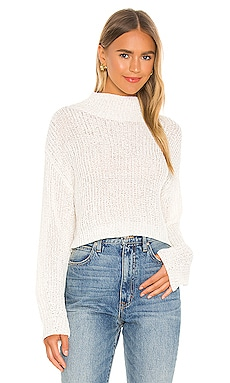 Bailey High Neck Sweater Lovers + Friends $108 NEW