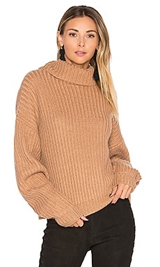 On The Road Sweater in Camel
