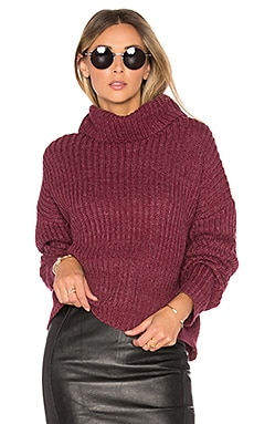 On the Road Sweater in Burgundy