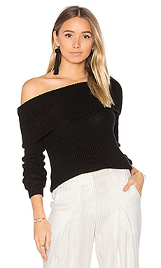 x REVOLVE Luna Sweater in Black